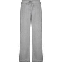 Oxford Grey Female Open Bottom Sweatpants with School Logo