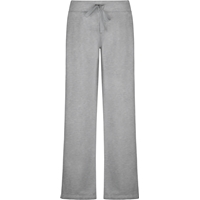 Oxford Grey Female Open Bottom Sweatpants with School Logo