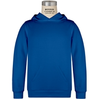 Royal Hooded Sweatshirt with School Logo