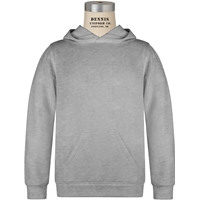 Oxford Grey Hooded Sweatshirt with School logo