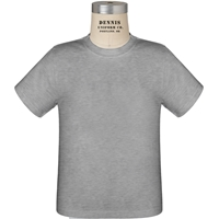 Grey 100% Cotton Toddler T-shirt with School logo