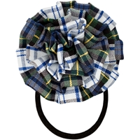 Belmont Plaid Rosette Hair Elastic