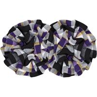 Arlington Plaid Rosette Barrette