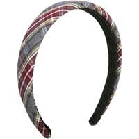 MM Plaid Padded Headband