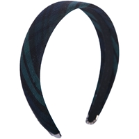 Blackwatch Plaid Padded Headband