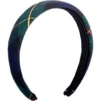 Belair Plaid Padded Headband