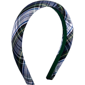 Belmont Plaid Padded Headband