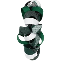 Citation Plaid Ribbon Barrette