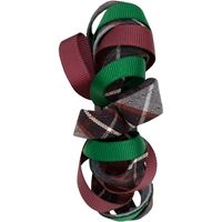 Malcolm Plaid Ribbon Barrette