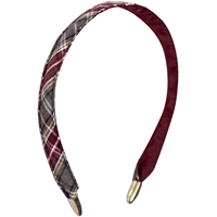 MM Plaid Headband