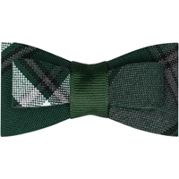 Citation Plaid Flat Hairbow