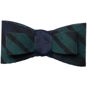 Blackwatch Plaid Flat Hairbow
