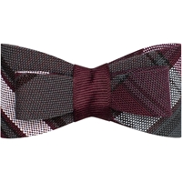 James Plaid Flat Hairbow