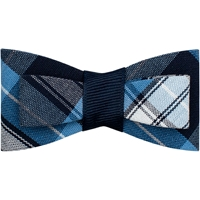 RR Plaid Flat Hairbow