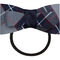 Dunbar Plaid Flat Bow With Elastic