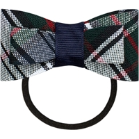 Lloyd Plaid Flat Bow With Elastic