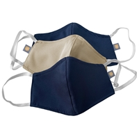 Navy and Khaki Contour Reversible 3 Pack Face Mask