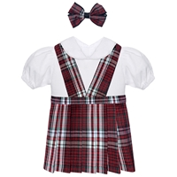 Charleston Plaid  Doll Outfit
