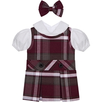 James Plaid Doll Outfit