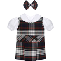 Lloyd Plaid Doll Outfit
