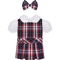 Ridgeland Plaid Doll Outfit