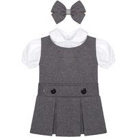 Heather Grey Gabardine Doll Outfit