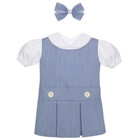 Light Navy Doll Outfit