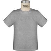 Athletic Heather Grey T-Shirt with School logo