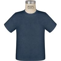 Heather Navy T-Shirt with School logo