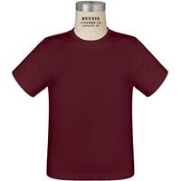 Maroon 100% Cotton T-Shirt with School Logo