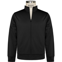 Black-Sport-Wick Fleece Full Zip Jacket with School logo
