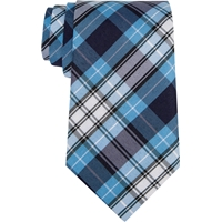 RR Plaid Neck Tie