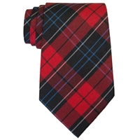Woodland Plaid Neck Tie