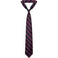 Navy/Burgundy Neck Tie
