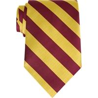 Maroon/Gold Stripe Neck Tie
