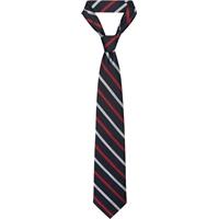 Red/Navy/Grey Neck Tie