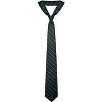 Green w/ Gold Pinstripe Neck Tie