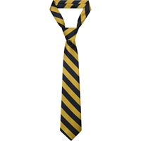 Old Gold/Dark Navy Neck Tie