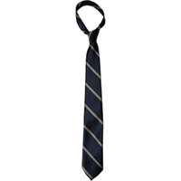 Navy/Gold/White Neck Tie