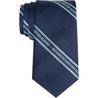 Navy Neck Tie with School Logo