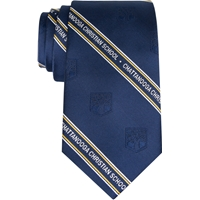 Navy Neck Tie with School Logo
