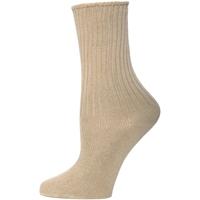 Khaki Crew Socks - 3 Pack