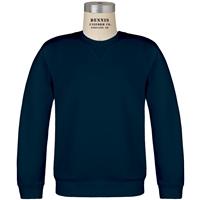 Navy Crew Neck Sweatshirt with School logo