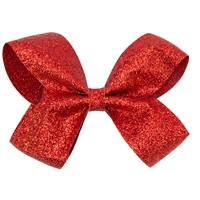 Red Glitter Hairbow