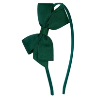Green Headband With Bow