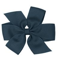 Navy Hairbow