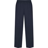 Unisex Pull on Pants-Navy with School logo
