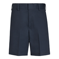 Boys-Classic Blend Shorts-Navy with School logo