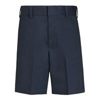 Boys-Classic Blend Shorts-Navy with School logo
