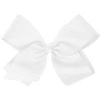 White Large Hairbow